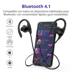 Auriculares Bluetooth impermeables Encore Hydra