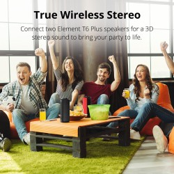 Altavoz Bluetooth Portátil Element T6 Plus SoundPulse™