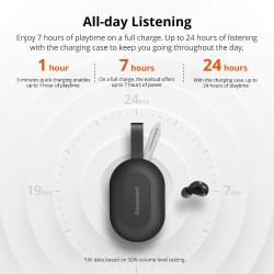 Auriculares Bluetooth inalámbricos TWS Spunky Beat