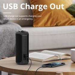 Altavoz Bluetooth Tronsmart T6 Plus Upgraded Edition con tecnología SoundPulse™