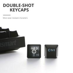 Tronsmart Elite 2.4GHz Teclado mecánico inalámbrico para juegos con Bluetooth
