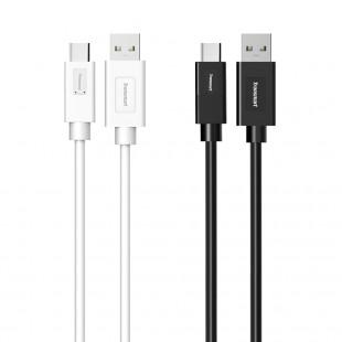 Tronsmart [Pack 2] CC02P Cable USB 3.0 Type-C Macho a USB A Sincronización y Carga  (1m, 1 x Negro, 1x Blanco)