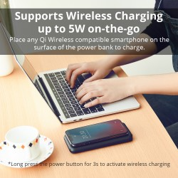 Tronsmart AirAmp 10000mAh Hybrid Wireless Charging Power Bank