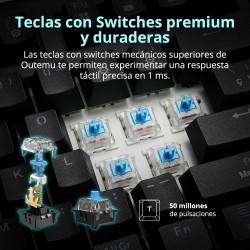 Tronsmart TK09R Teclado Mecánico para Juegos - español versión